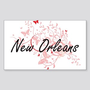 New Orleans Louisiana City Artistic design Sticker