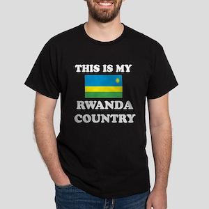 This Is My Rwanda Country Dark T-Shirt