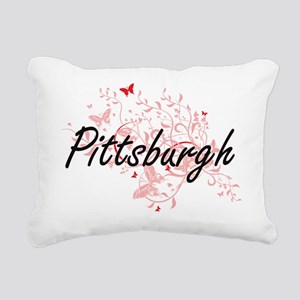 Pittsburgh Pennsylvania Rectangular Canvas Pillow