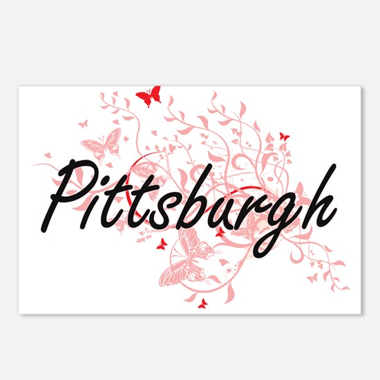 Pittsburgh Pennsylvania C Postcards (Package of 8)