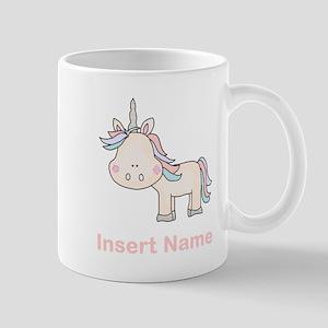 Little Unicorn Personalized Mug