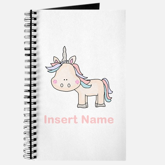 Little Unicorn Personalized Journal