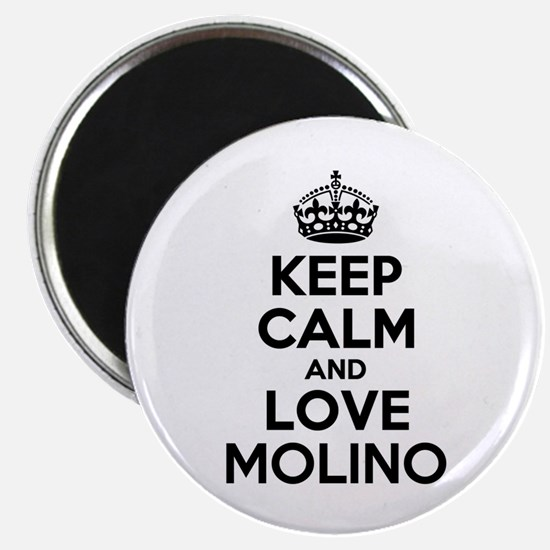 Keep Calm and Love MOLINO Magnets