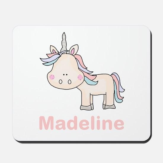 Madeline's Little Unicorn Mousepad
