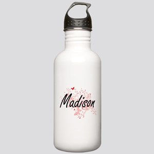 Madison Wisconsin City Stainless Water Bottle 1.0L