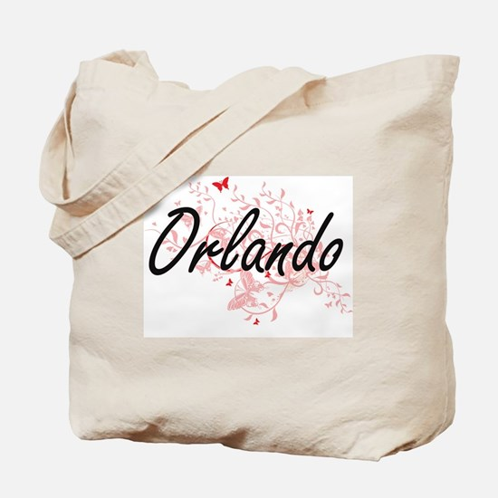 Orlando Florida City Artistic design with Tote Bag