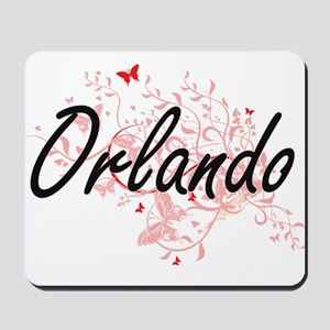 Orlando Florida City Artistic design wit Mousepad