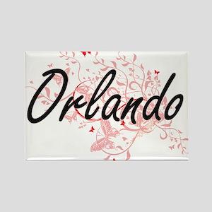 Orlando Florida City Artistic design with Magnets