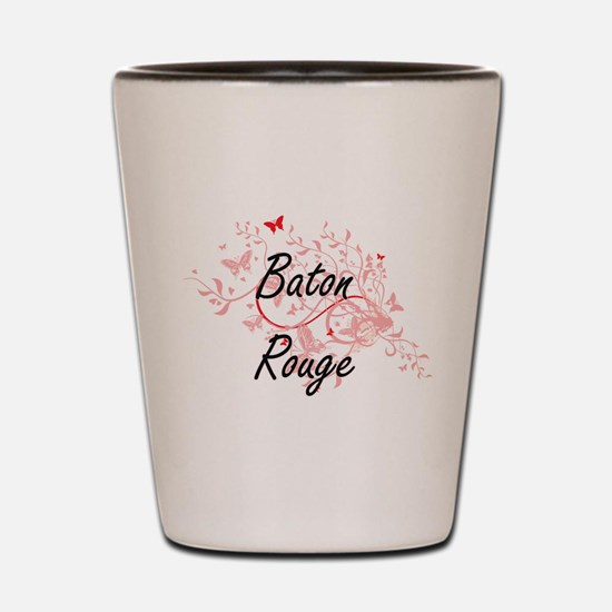Baton Rouge Louisiana City Artistic des Shot Glass