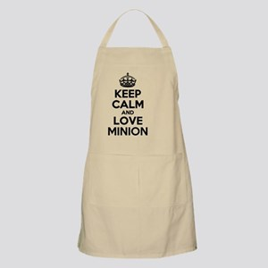 Keep Calm and Love MINION Apron