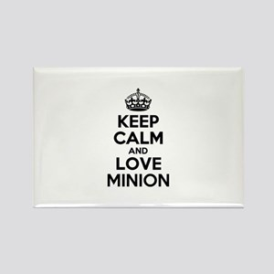 Keep Calm and Love MINION Magnets