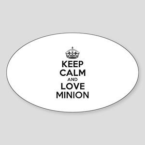 Keep Calm and Love MINION Sticker
