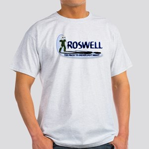 Roswell 2 Much To Dream Blue W/logo T-Shirt