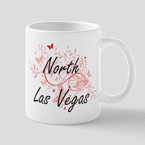 North Las Vegas Nevada City Artistic design w Mugs