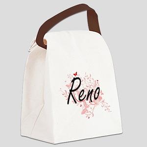 Reno Nevada City Artistic design Canvas Lunch Bag