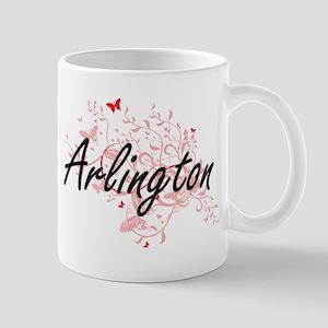 Arlington Virginia City Artistic design with Mugs