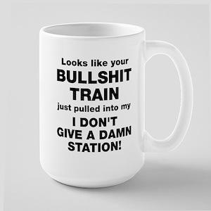 Bullshit Train Mugs