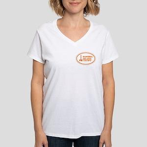 Sanibel Island Women's V-Neck T-Shirt
