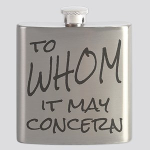 To Whom it May Concern Flask