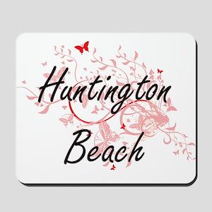 Huntington Beach California City Artisti Mousepad
