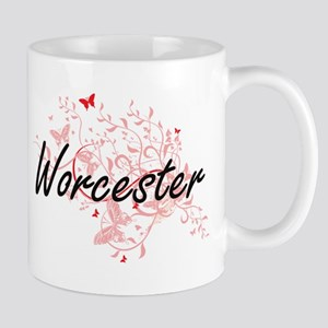 Worcester Massachusetts City Artistic design Mugs