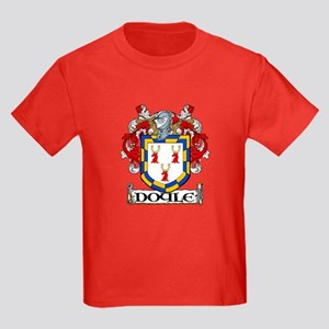Doyle Coat of Arms Kids Dark T-Shirt