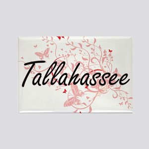 Tallahassee Florida City Artistic design w Magnets