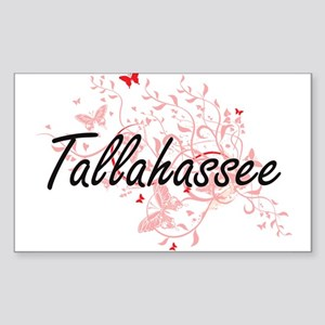 Tallahassee Florida City Artistic design w Sticker