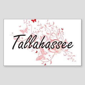 Tallahassee Florida City Artistic design w Sticker