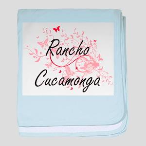 Rancho Cucamonga California City Arti baby blanket