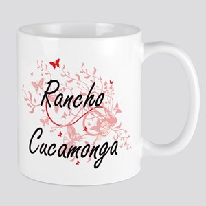 Rancho Cucamonga California City Artistic des Mugs