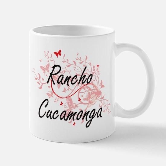 Rancho Cucamonga California City Artistic des Mugs