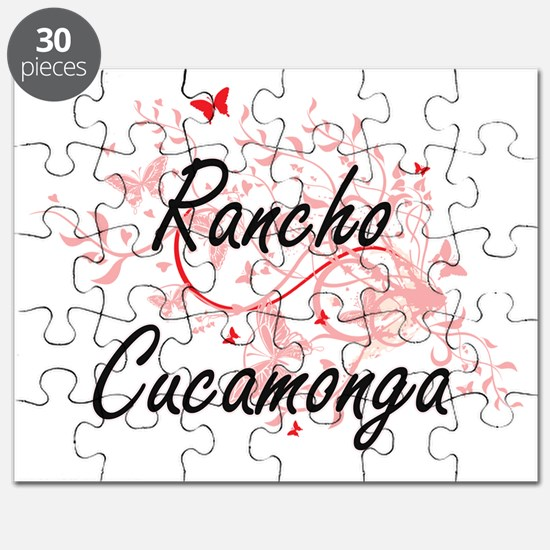 Rancho Cucamonga California City Artistic d Puzzle