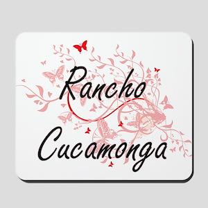 Rancho Cucamonga California City Artisti Mousepad