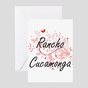 Rancho Cucamonga California City Ar Greeting Cards