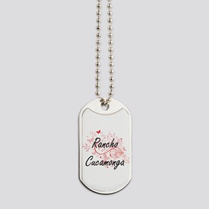 Rancho Cucamonga California City Artistic Dog Tags