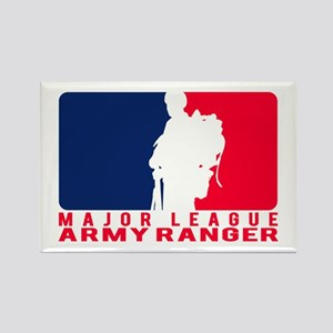 Major League Army Ranger Rectangle Magnet