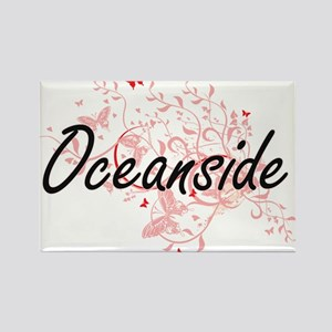 Oceanside California City Artistic design Magnets