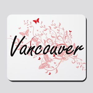 Vancouver Washington City Artistic desig Mousepad