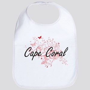 Cape Coral Florida City Artistic design with b Bib