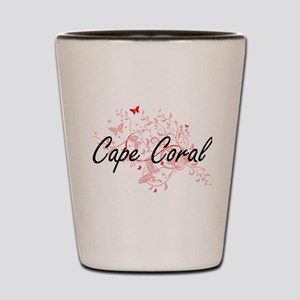 Cape Coral Florida City Artistic design Shot Glass