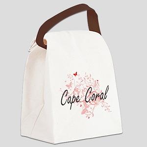 Cape Coral Florida City Artistic Canvas Lunch Bag