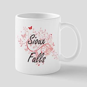 Sioux Falls South Dakota City Artistic design Mugs