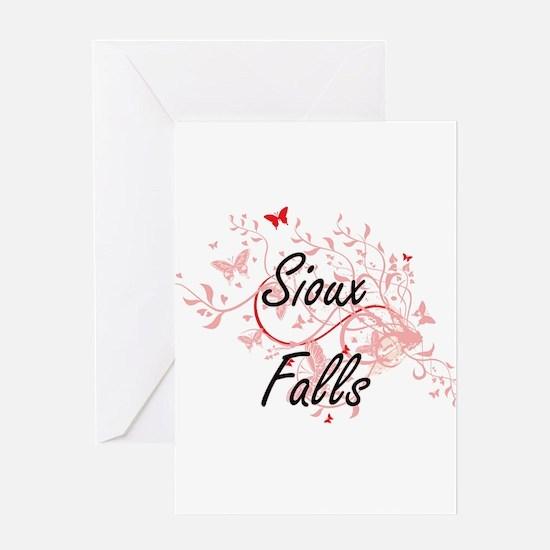 Sioux Falls South Dakota City Artis Greeting Cards