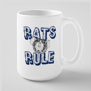 Rats Rule Large Mug