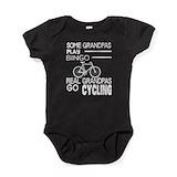 Cycling dad Bodysuits