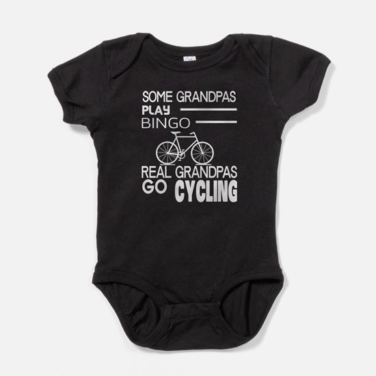 Real Grandpas Go Cycling T Shirt Body Suit