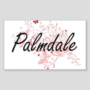 Palmdale California City Artistic design w Sticker