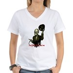 Party with the Dead Women's V-Neck T-Shirt