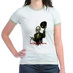 Party with the Dead Jr. Ringer T-Shirt